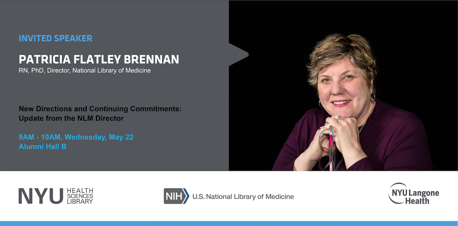 Patricia Brennan will be speaking at 9am on May 22 in Alumni Hall B