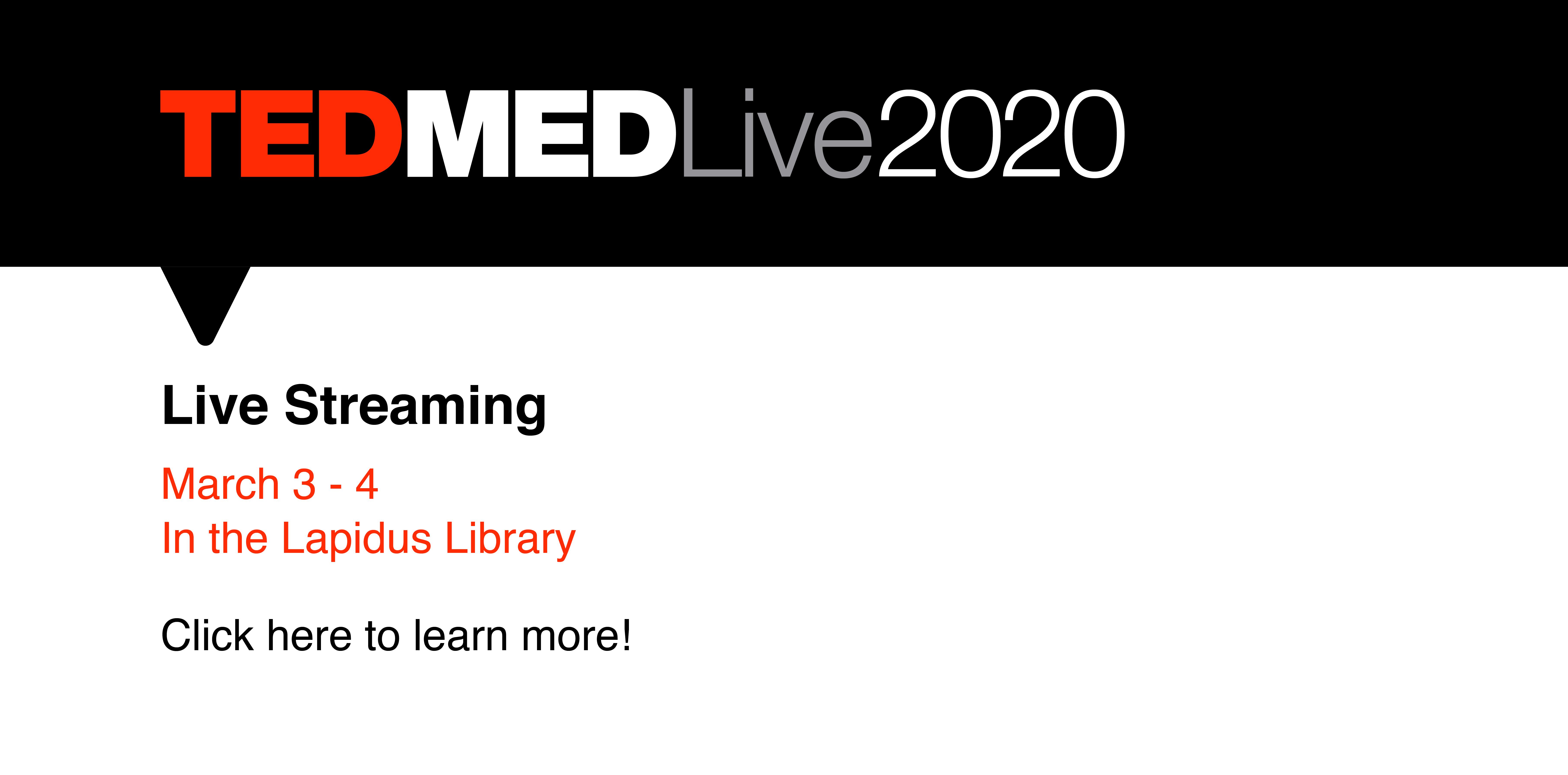 TedMed conference information